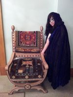 Your throne awaits... by RedexCosplay