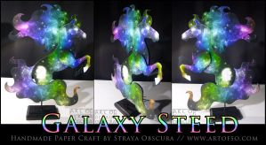 Galaxy Steed by StrayaObscura