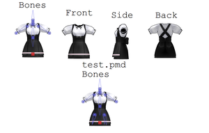 MMD PL2 Dress WITH PHYSICS by Togekisspika35