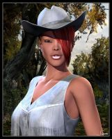 Robyn's Wedding Solo Portrait by celticarchie