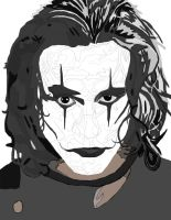 The Crow Pen (Brandon Lee) work 3 by daylover1313