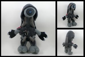 Mass Effect - Legion plushie by eitanya