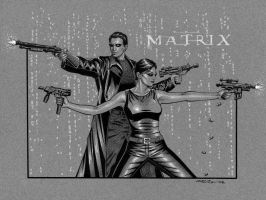 The Matrix by 93Cobra