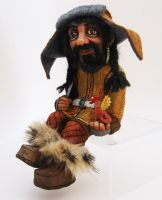 Bofur the Toymaker - OOAK Figurine by Annie-Stuart