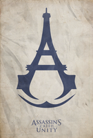 Assassin's Creed: Unity - Fan Made Poster by disgorgeapocalypse