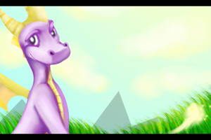Spyro - Old School Memories by LittleMissTwitchy