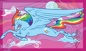 MLP: Rainbow Dash by Sirens-Voice