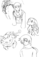 Tons of Linearts by DeadlyObsession
