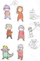 South Park Doodles by Sherman-WIP