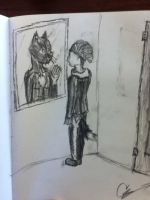 How my Reflection reveals itself to me by GriffinRa9e