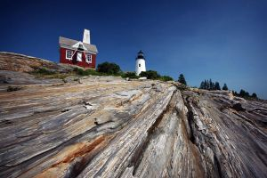Pemaquid Point Light by tfavretto