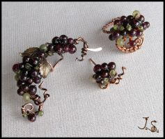 Bunch of berries set by JSjewelry