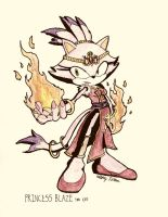 No.2 Blaze the Cat by NextGrandcross