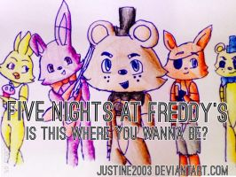 Five Nights at Freddy's by justine2003