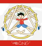 Jake Long... Literally... by zephleit