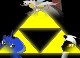 Bearers of the Triforce by Tomdepl
