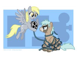 Silver Screen and Friend by Tim-Kangaroo