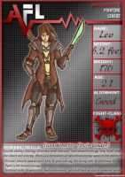AFL 5 Leo character sheet by darkdancing-blades
