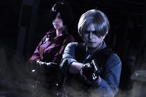 Ada and Leon Resident Evil 6 by Akira0617