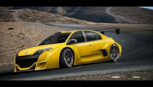 Renault Laguna SAW_Trophy by yasiddesign