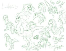 FS: Lukas Redesign Sketches by neo-dragon