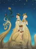 Three Princesses of Whiteland by Arbetta