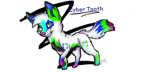 Cyber Tooth 20 point adoptable ADOPTED by AncPikachu