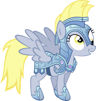 Derpy Is a Crystal Pony by Akili-Amethyst