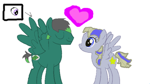 Pony couple adoptable SOLD by Deep-Fried-Love