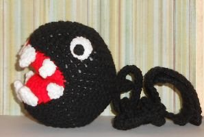 Chain Chomp Plush by Craftigurumi