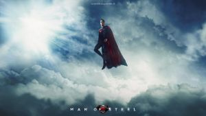 Man of Steel Wallpaper 3 *blue* by visuasys