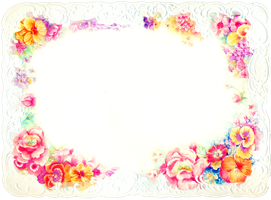Flower card stock by jinifur