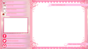 White text with Pink glow by mine22mine