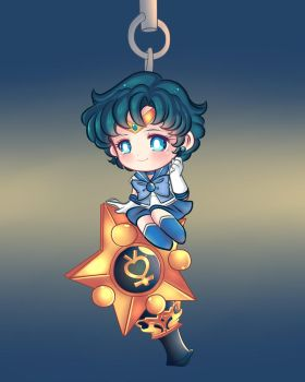 twinkley dolly sailor mercury by Invader-celes