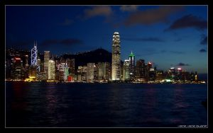 Hong Kong Island by cvhuie