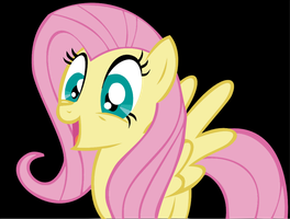 MLP: Fluttershy is excited by Ookami-95