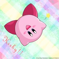 Kirby - the jumping star by Sting-Chameleon