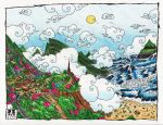 Village of Wind and Ocean by ZS3