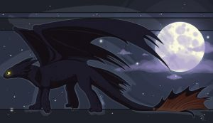HTTYD - Toothless by AppleRat