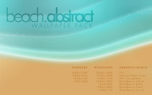Beach Abstract Wallpaper Pack by SlimTrashman