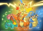 [+VIDEO!!] Kanto Starters by DoncellaSuicide