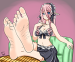 Monster Musume: Mero's Feet PoV by SpriteFeetFetish