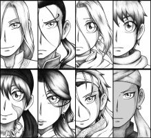 Team Arslan by MidoriNichirin