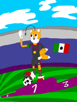 Tails Doll Gold Medal by MiiXteR