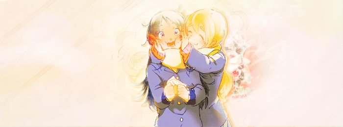 Facebook cover - Mio x Mugi by MaryuiT