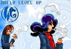 Molly Level Up - Finished by skull-boy666