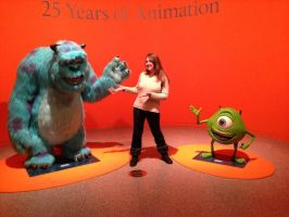Me and the Pixar exposition by YunakiDraw