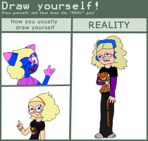 Draw Yourself Meme by Jinx-the-Blue-Cat