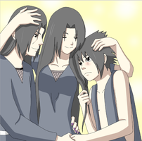 Brothers and Sister by minai28