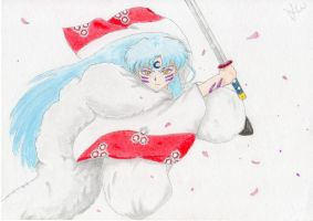 Sesshomaru by JamieWardley